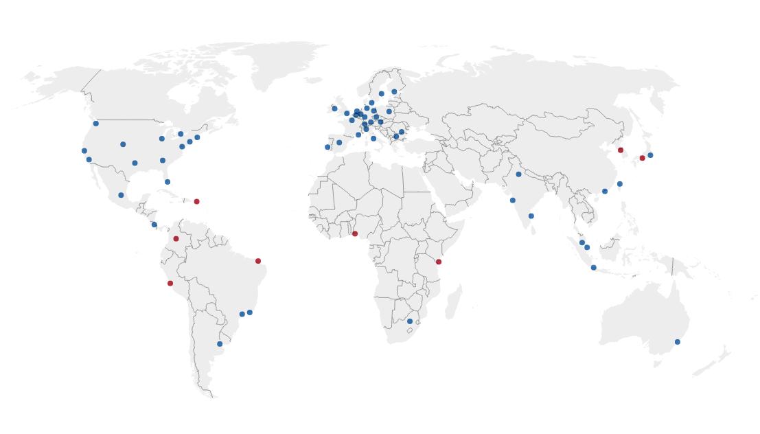 Facebook edge locations